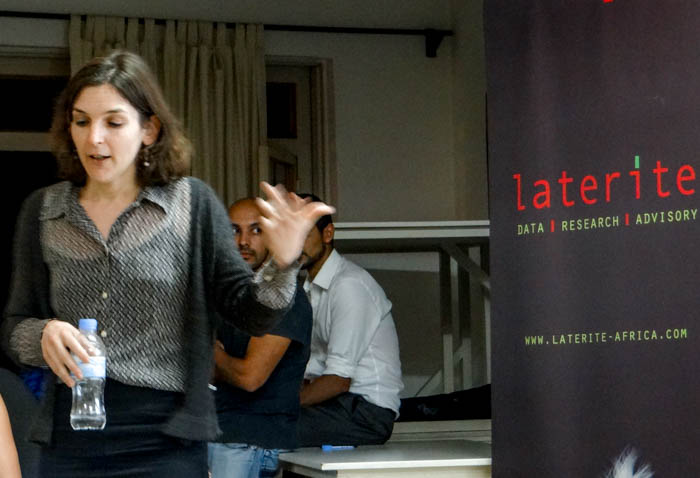Laterite Hosts Annie Duflo at the 4th Rwanda Research Roundtable in Kigali