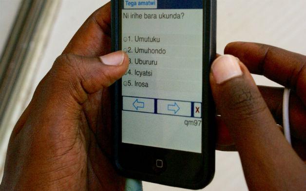 Innovations in Data Collection – Implementing Voice-Assisted Surveys in Rwanda
